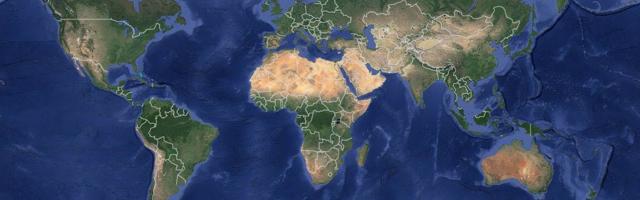 Celosvetový výskyt zlata