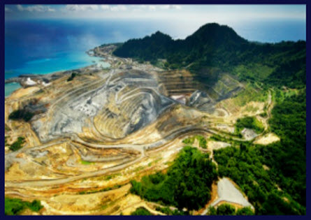 Lihir, Island, Papua New Guinea