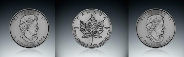 Investičná strieborná minca - Maple Leaf